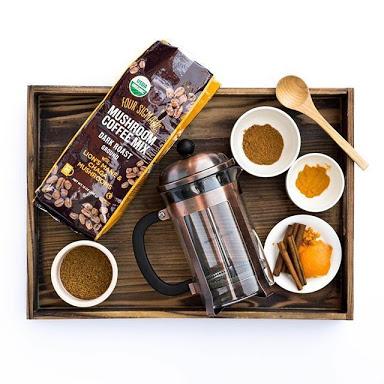 how to make mushroom coffee