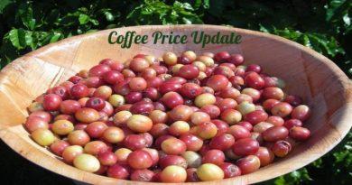 Coffee Prices (Karnataka) on 22-10-2018