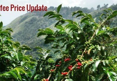 Coffee Prices (Karnataka) on 14-12-2018